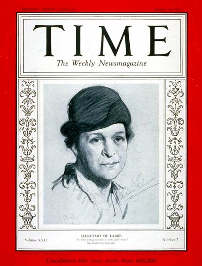 LABOR DAY PROPS FOR FRANCES PERKINS